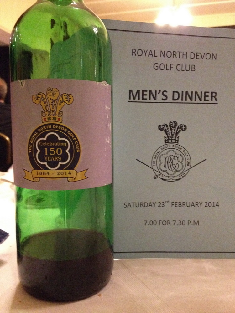 The Mens Dinner 2019 - Friday 29th March