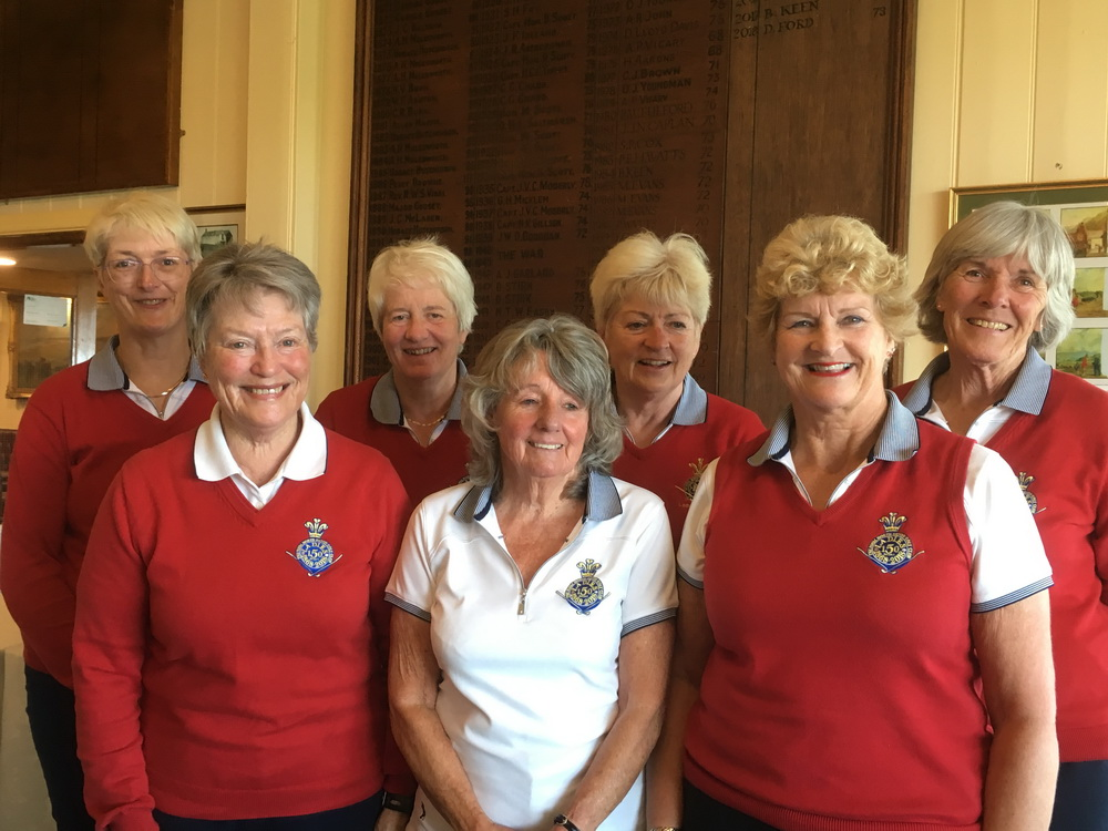First match of the year for The Ladies Presidents Trophy team
