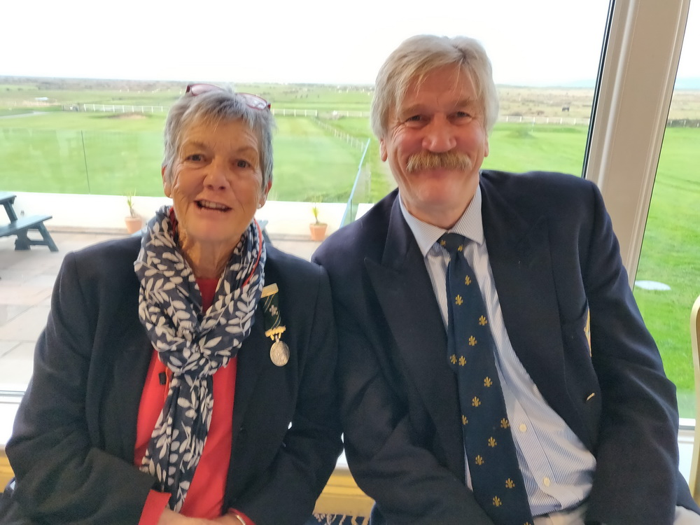 heather gale and Mervyn Fudge 2018 president vs chairman