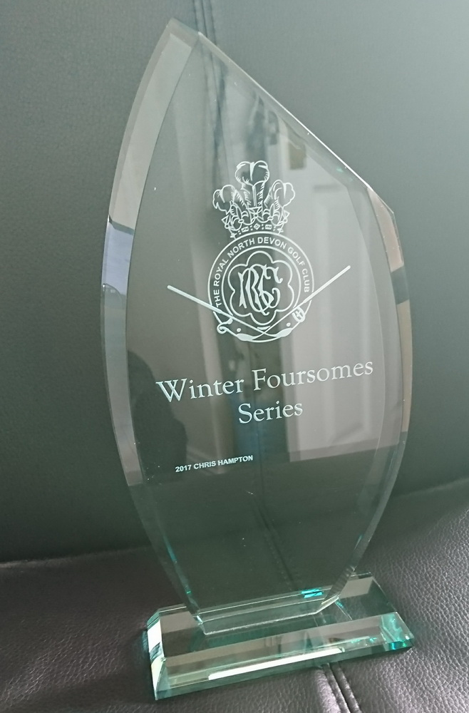 winter foursomes trophy