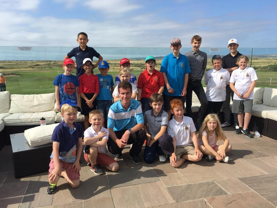 Junior Golf In Schools at The Royal North Devon Golf Club