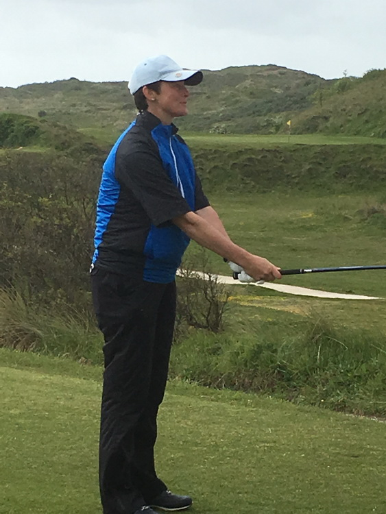 Ladies Still Cup 2019 starter at Saunton