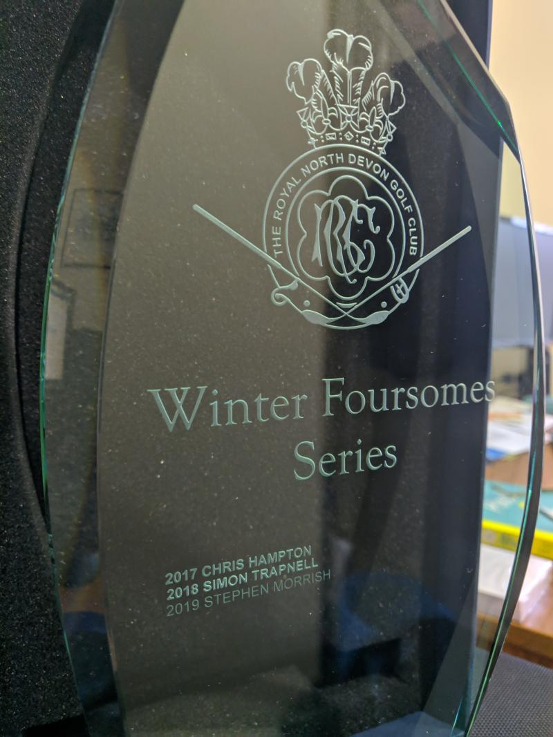 Winter Foursomes League - 2019/20