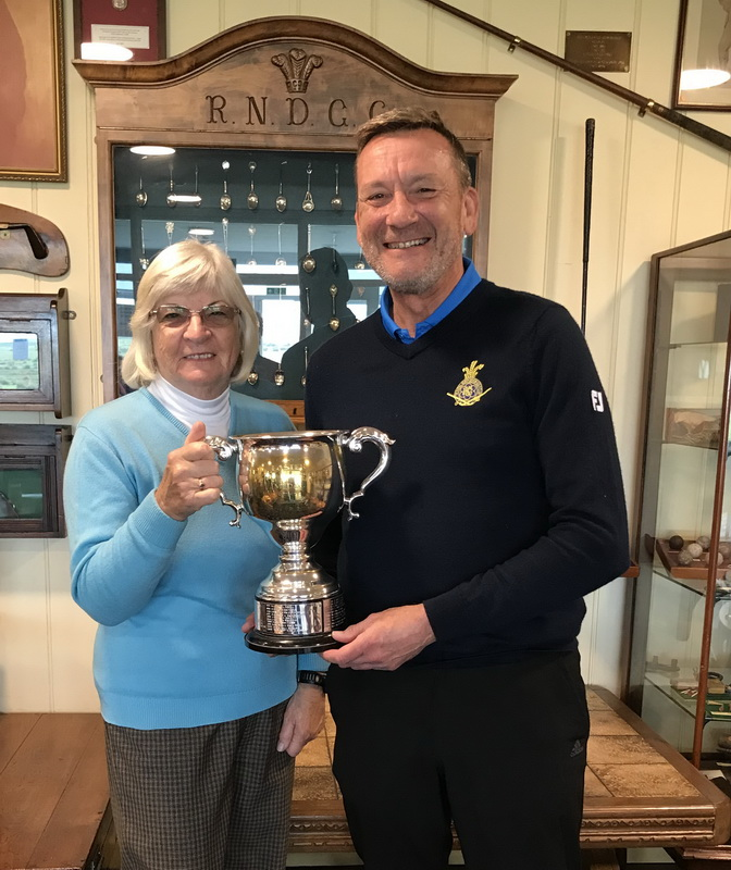 Butterfield mixed foursomes Medal