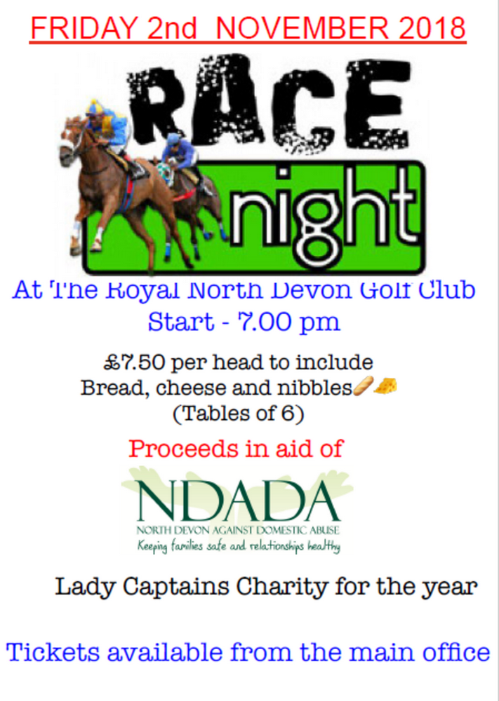 Race Night November 2018
