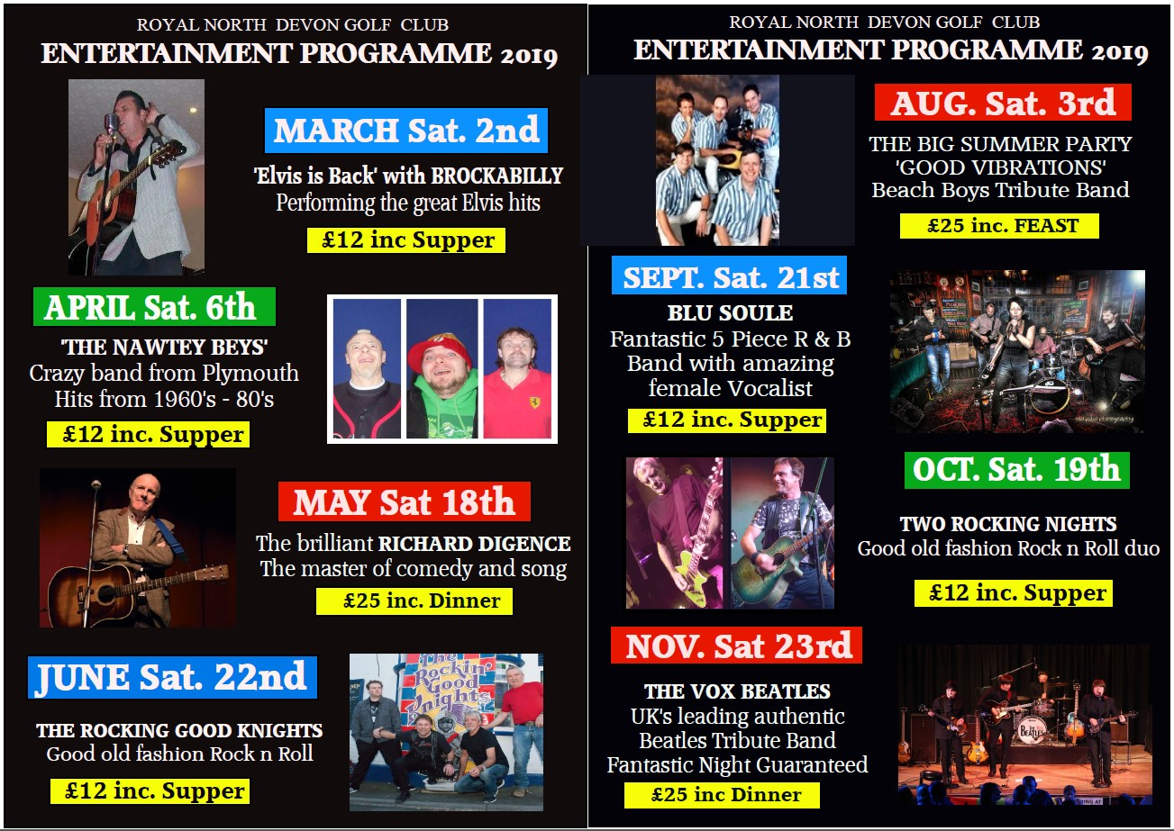 entertainment program 2019
