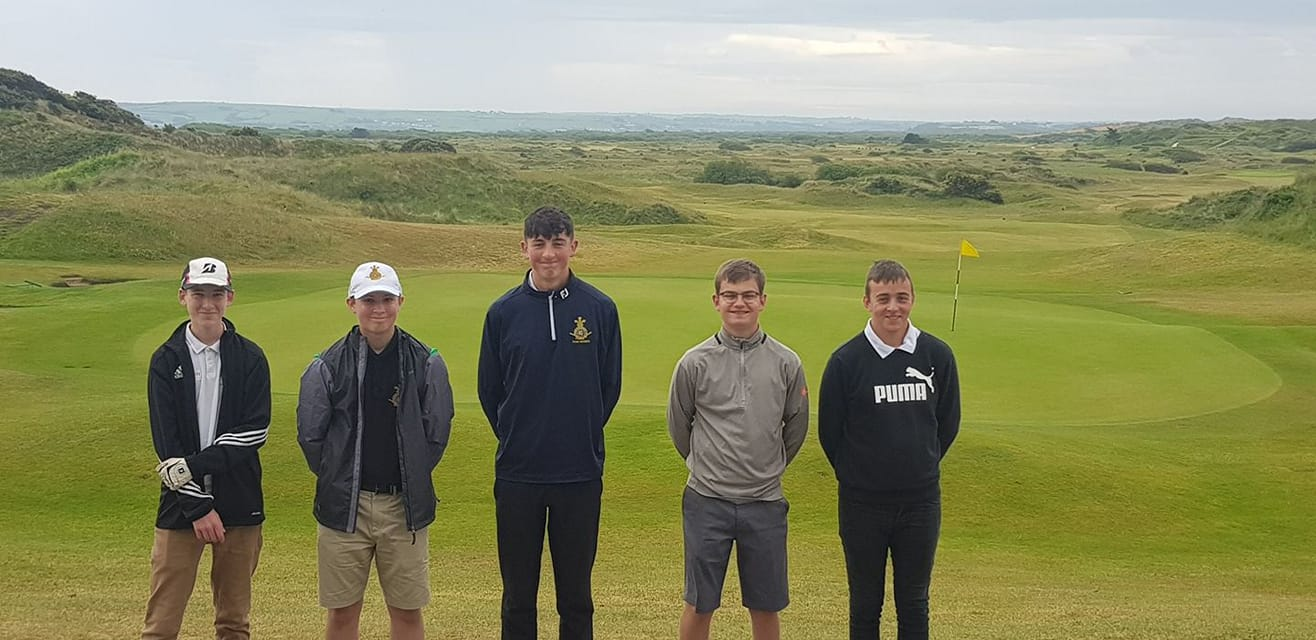 RND juniors 2019 at Saunton